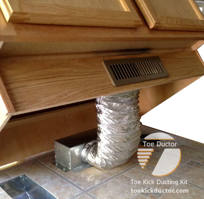 Toe Ductor Floor Vent Kits Best Seller Toe Kick Ductor