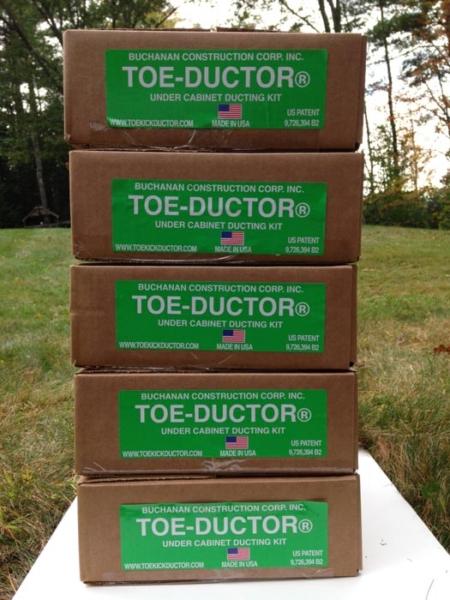 Toe Ductor Bulk 5 Pack